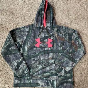 Camo Under Armour Sweatshirt